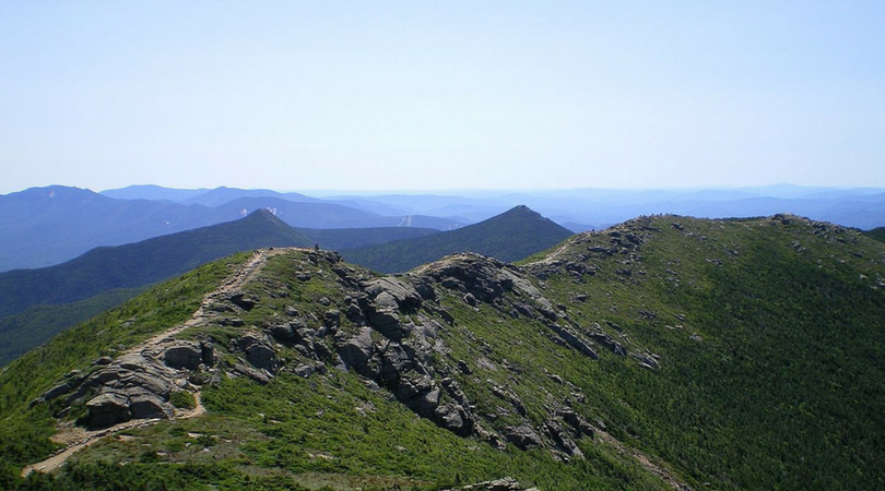 New Hampshire to Mt Washington : Presidential Traverse